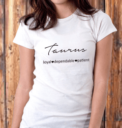 Taurus T-shirt by SassySmack