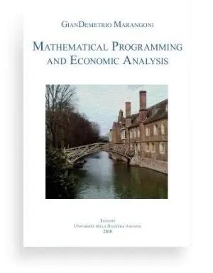 Mathematical Programming and Economic Analysis