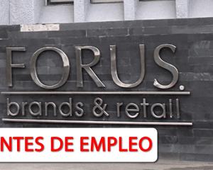 Hoy Nuevas Vacantes de Empleo en Forus