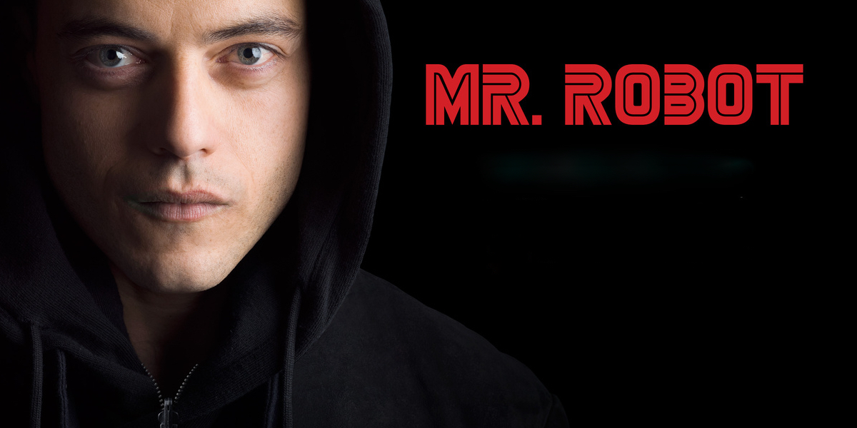 Mr. Robot TV series image that shows Malik ( Eliot)