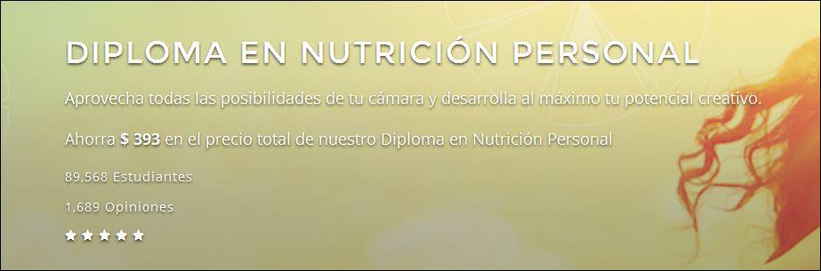 diploma nutricion personal