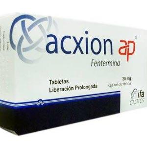 Pastillas Acxion (Fentermina): Como Funciona para Adelgazar y sus Riesgos