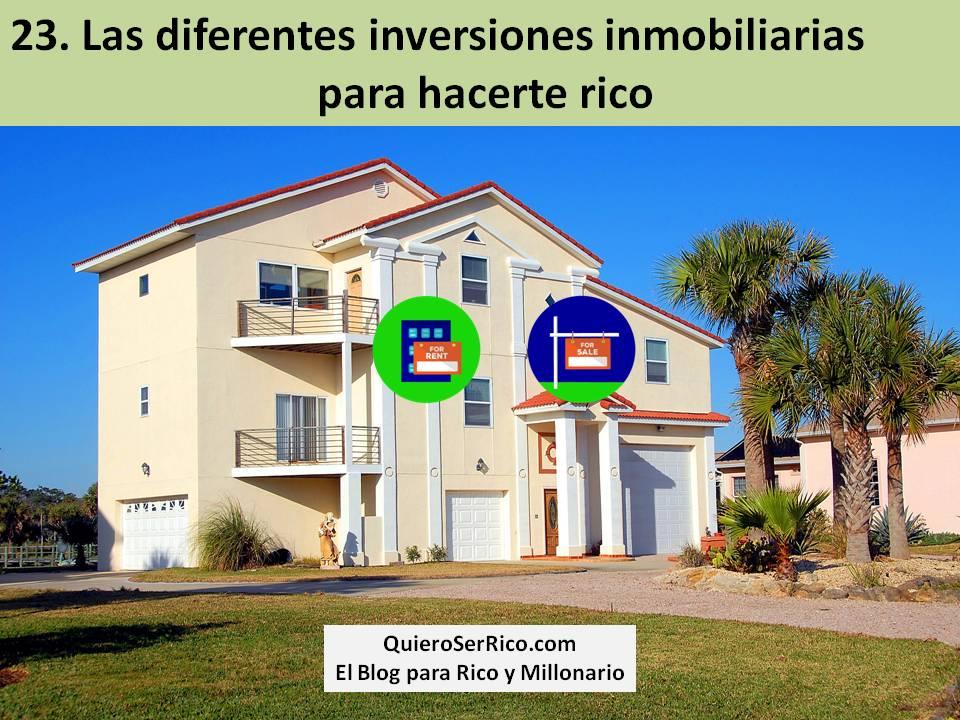 inversiones inmobiliarias para hacerte rico
