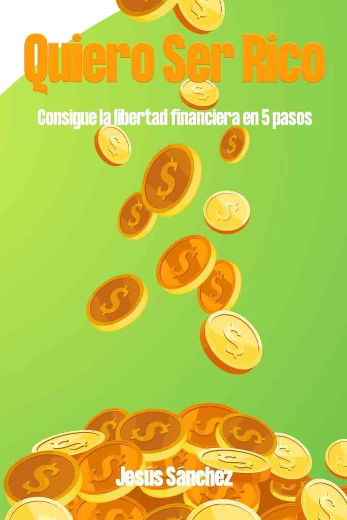 portada del libro quiero ser rico