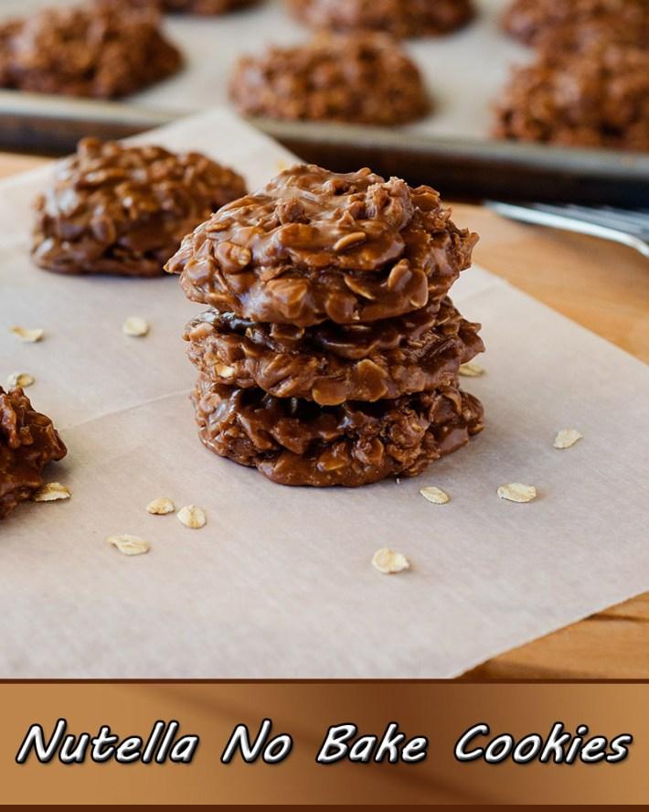 Easy Recipes – Nutella No Bake Cookies