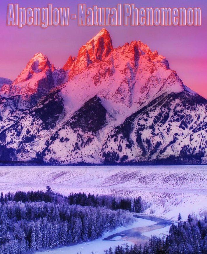Alpenglow – Natural Phenomenon