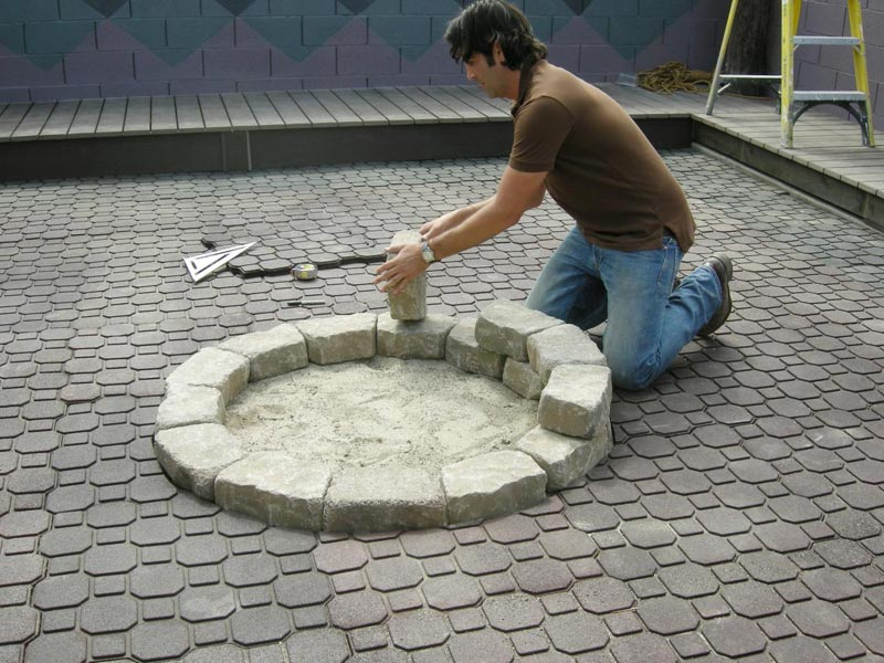 How To Make A Backyard Fire Pit  Quiet Corner
