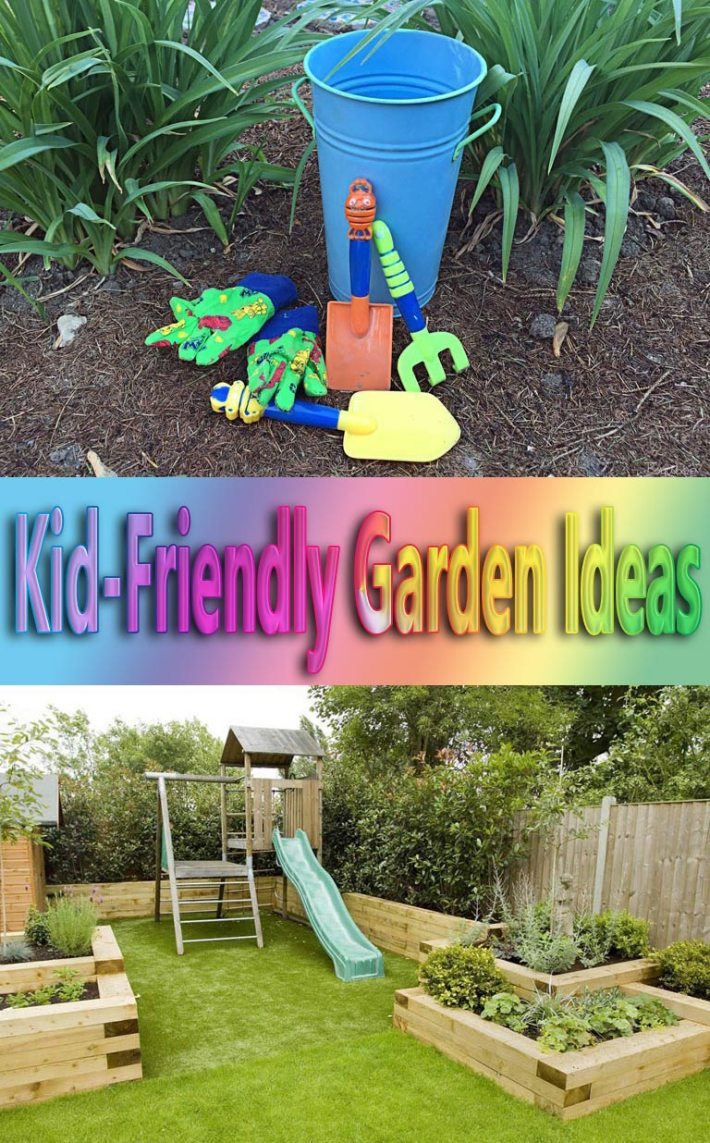 Kid-Friendly Garden Ideas