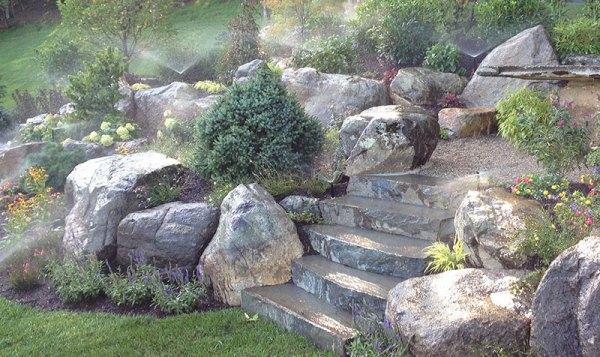quiet corner 15 stone landscaping
