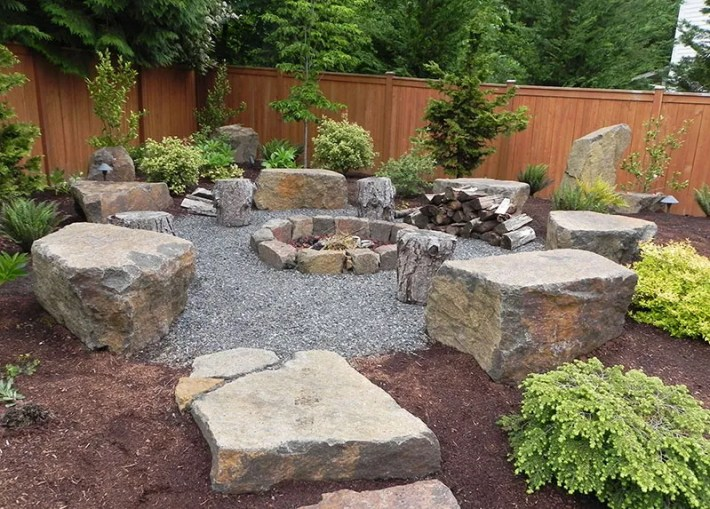 Quiet Corner 15 Stone Landscaping Ideas Quiet Corner