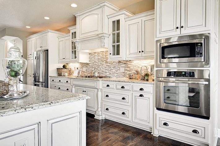 Kitchen Ideas – Antique White Kitchen Cabinets