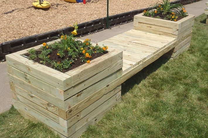 How To Build a Planter Bench