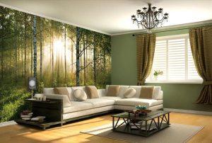 living wall wallpapers corner quiet