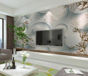 wall living wallpapers corner quiet modern