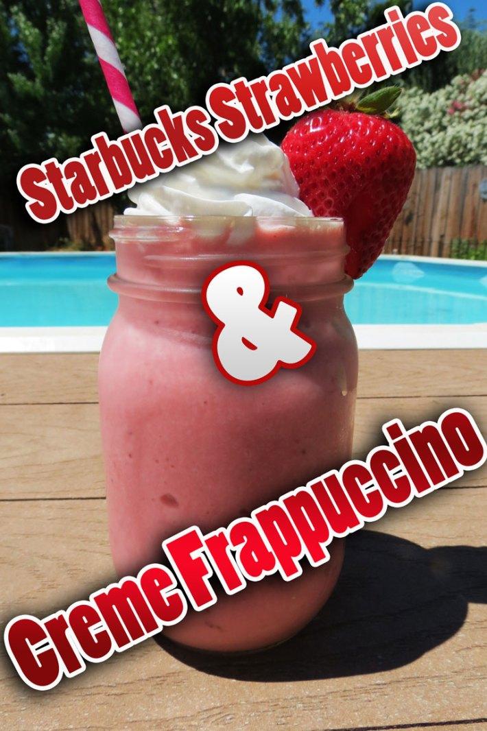 Starbucks Strawberries & Creme Frappuccino