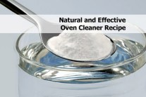 Natural Oven Cleaning Recipe
