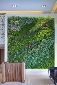 Living Wall Vertical Garden Benefits - Quiet Corner