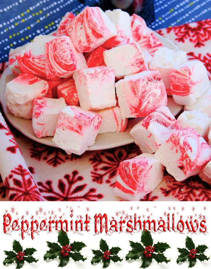 Peppermint Marshmallows Recipe
