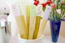 Easy DIY - Dipped & Embellished Wooden Utensils