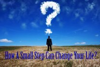 Small Step Can Change Your Life