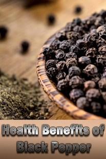 Black Pepper – Health Benefits