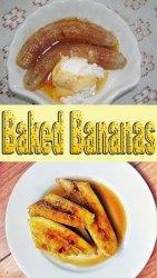 Honey Baked Bananas Recipe