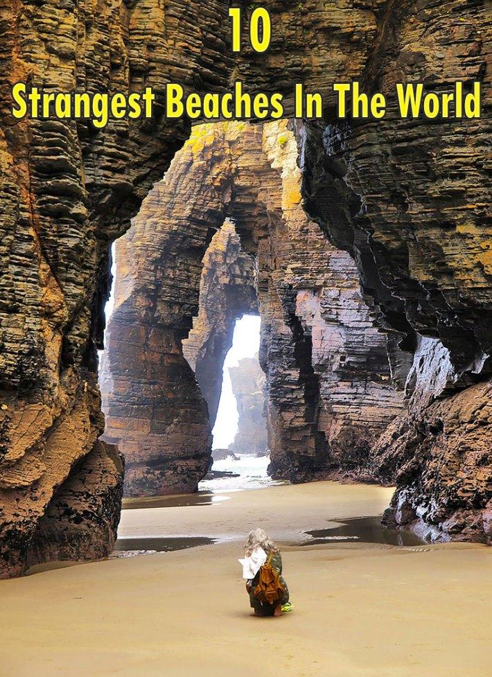 10 Strangest Beaches In The World
