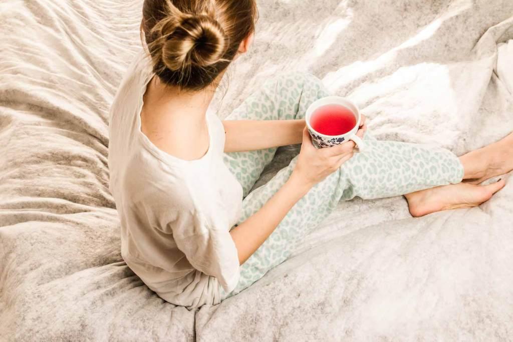 Tinnitus relaxation tea