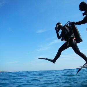 sub, diving, scuba
