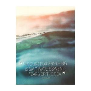 The cure is water