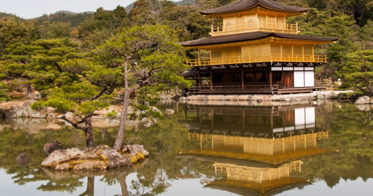 Kyoto – Kinkakuji and Ryoanji