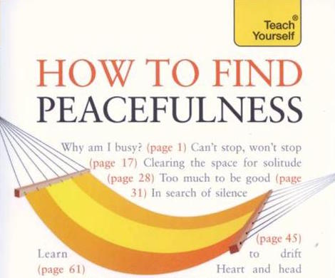 How to Find Peacefulness by Tina Jefferies