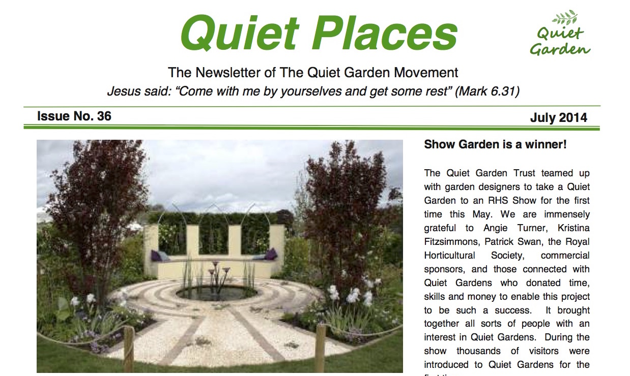 Quiet Places 36 – July 2014