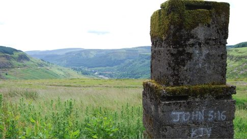 Treherbert from the head of the valley