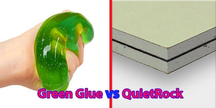Green Glue vs QuietRock