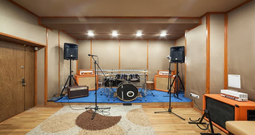 Soundproof Recording Room