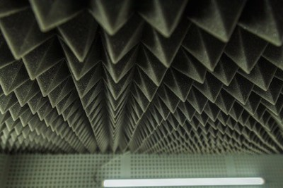 Acoustic Foams on the ceiling