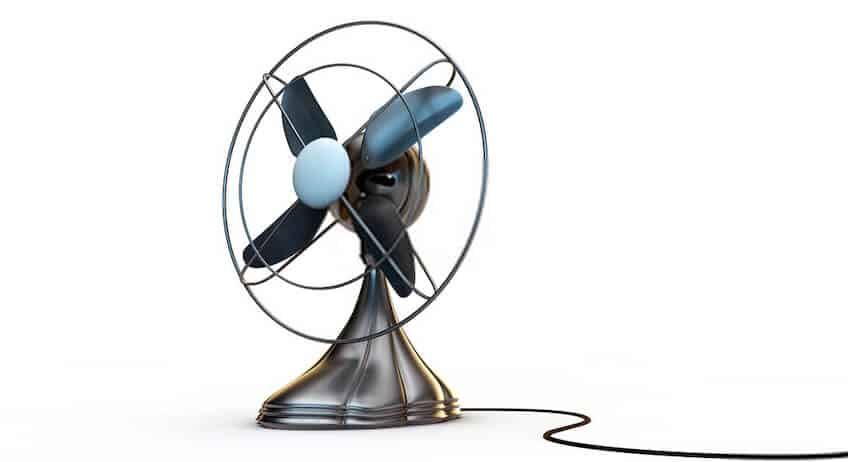 Good Condition in Fan Cage