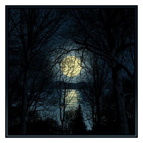 """The Yellow Moon On the Rise"". | Dan McCarthy."