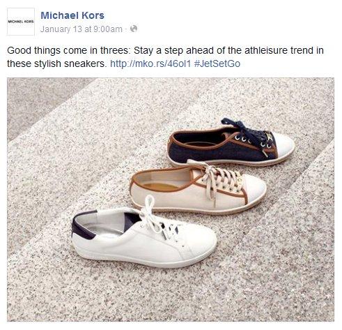 Facebook - Michael Kors