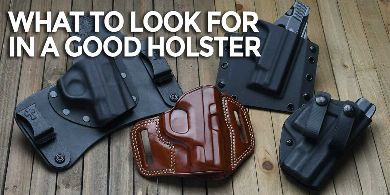 Stop Using Bad Holsters