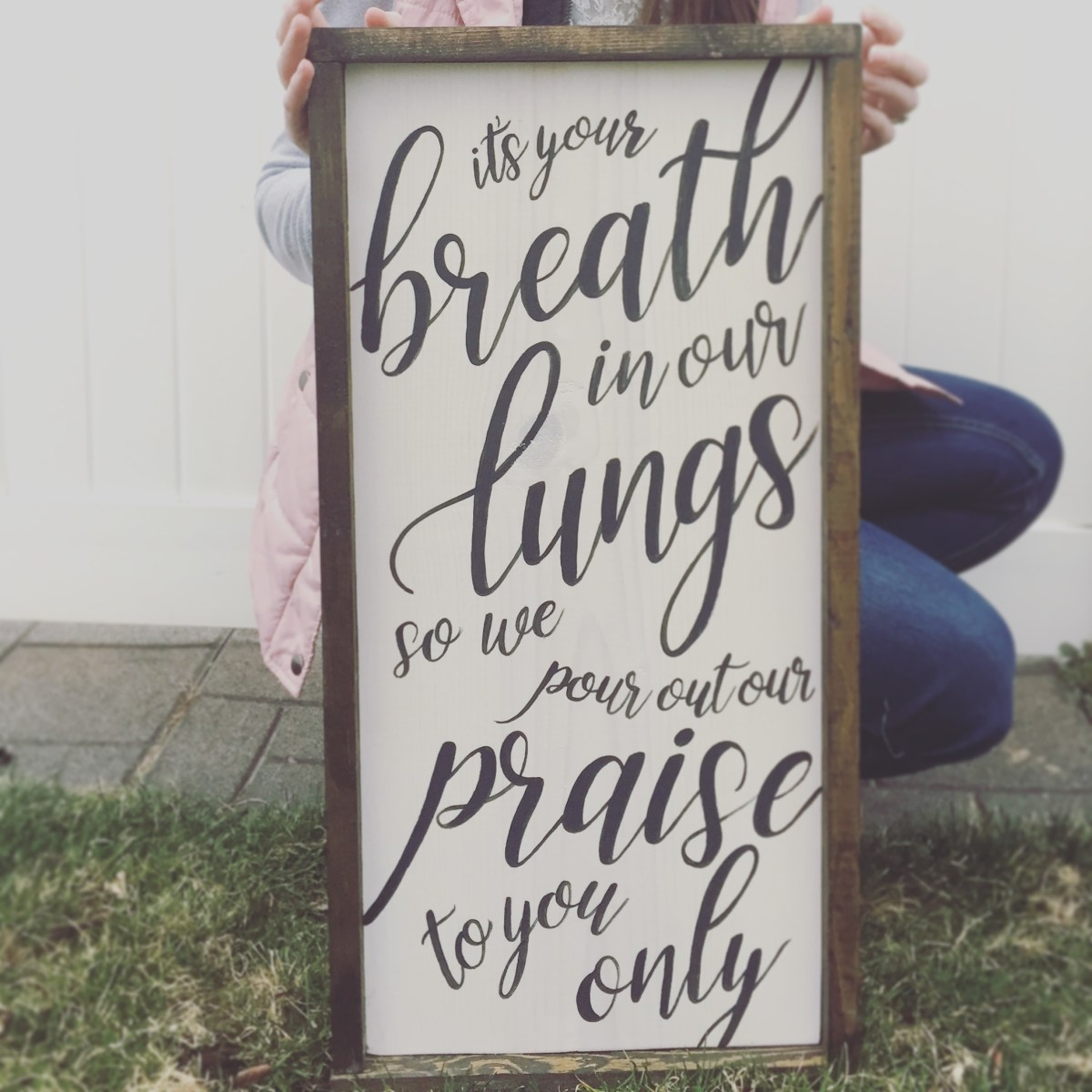 Breath In Our Lungs :: 2nd Saturday Signs