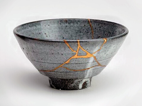 Example of Kintsugi