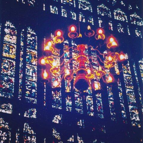 York Minster chandelier