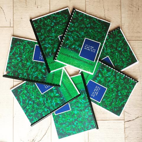 Career Reinvention Day workbooks