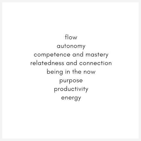Flow concepts