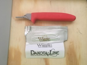 Wiebe Fixed Blade Dakota Line