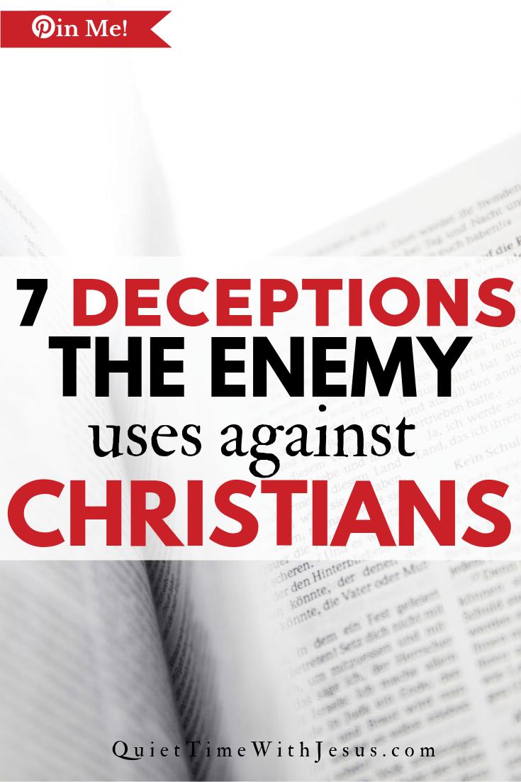 deceptions against christians