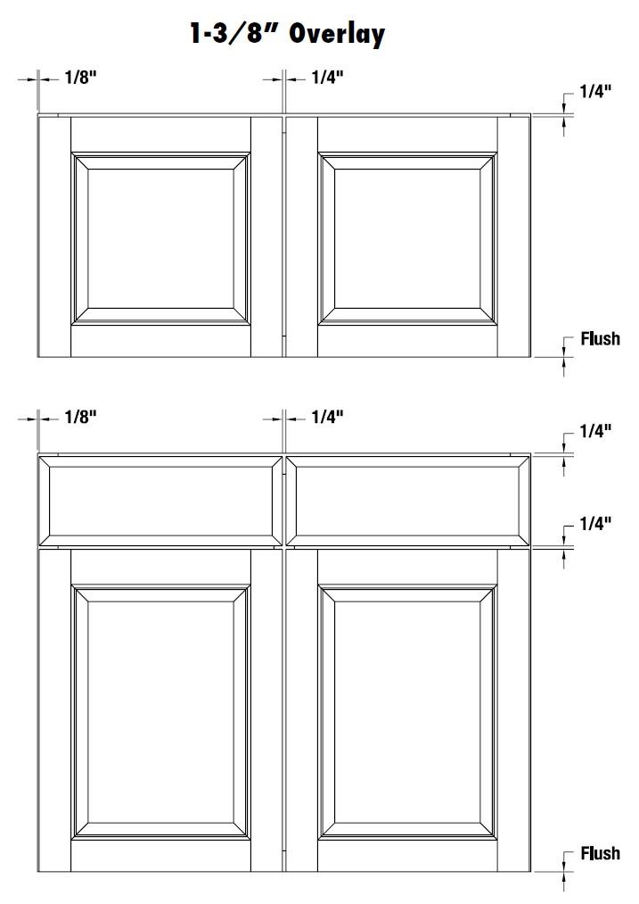 cabinet door diagram bosch alternator wiring holden overlay information 1 3 8