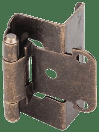 1/2 Overlay Full Wrap Around Hinge - Bulk Pack [H6541.xx ...